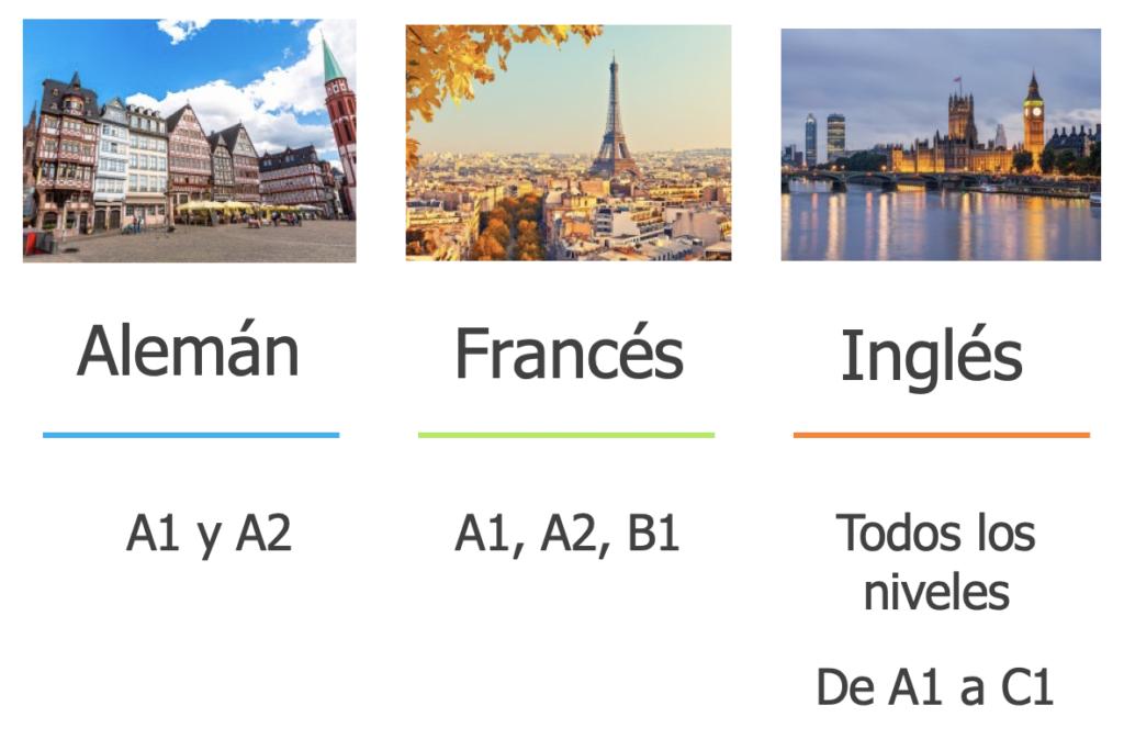Idiomas Semipresenciales