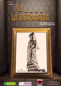 Cartel Teatro Bernarda Alba