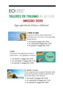 Talleres Italiano A1 A2 B1 Mayo 1