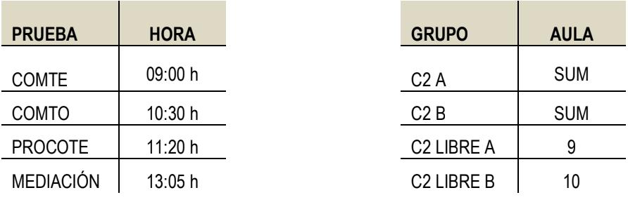Prueba Escrita Inglés Avanzado C2