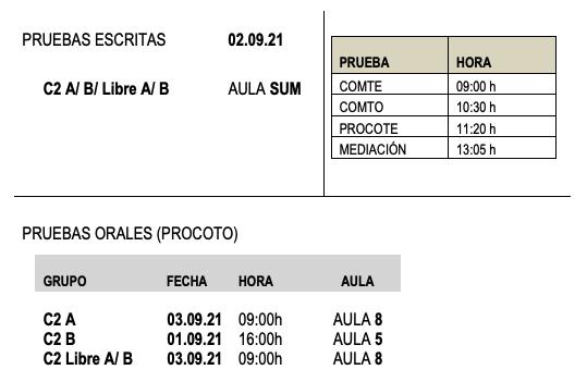 Certificación Inglés C2